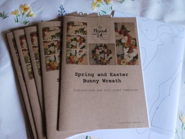 Spring Wreath Sewing Pattern Booklet
