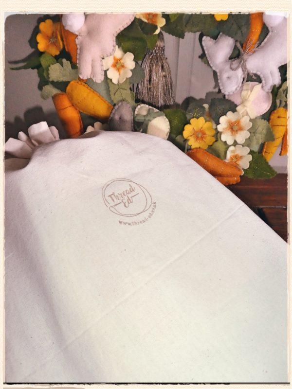 Cotton bag with logo